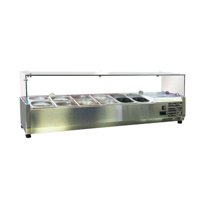 Vitrina frigorifica ingrediente pizza/salate ESL-3861