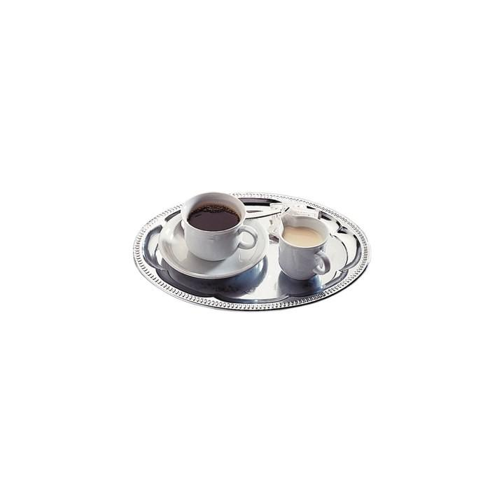 Tava decorata pentru servire cafea Hendi 310x230 mm