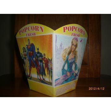 Cutii popcorn mari The Best 120grame