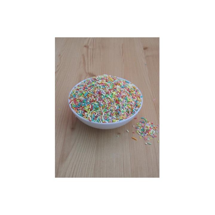 Decor prajituri multicolor