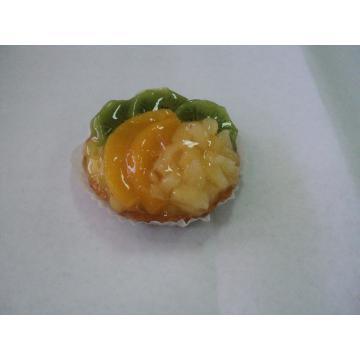 Tarta cu kiwi ananas si piersica