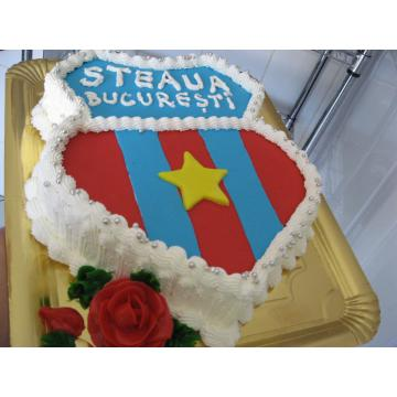 Tort emblema Steaua
