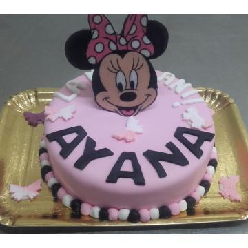 Tort personalizat cu Minnie
