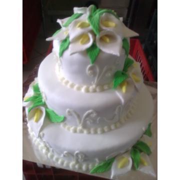Tort nunta din martipan