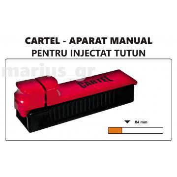 Aparat manual de injectat tutun Cartel