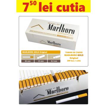Tuburi de tigari goale Marlboro Gold Original