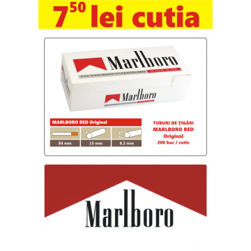 Tuburi de tigari goale Marlboro Red Original