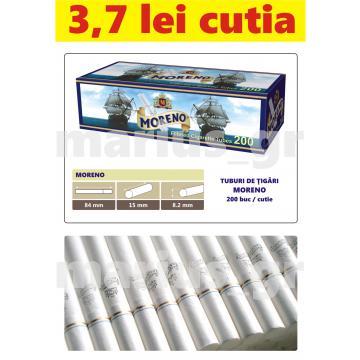 Tuburi de tigari goale pentru injectat tutun - Moreno