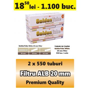 Tuburi tigari filtru alb - GoldenTube 1100