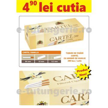 Tuburi tigari Cartel Vanilla