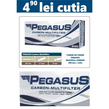 Tuburi tigari goale Pegasus Multifiltru cu carbon activ