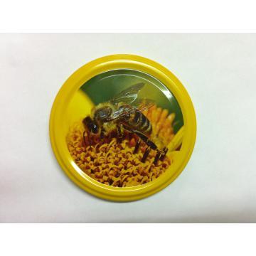 Capac Twist off cu design specific pentru mierea de albine