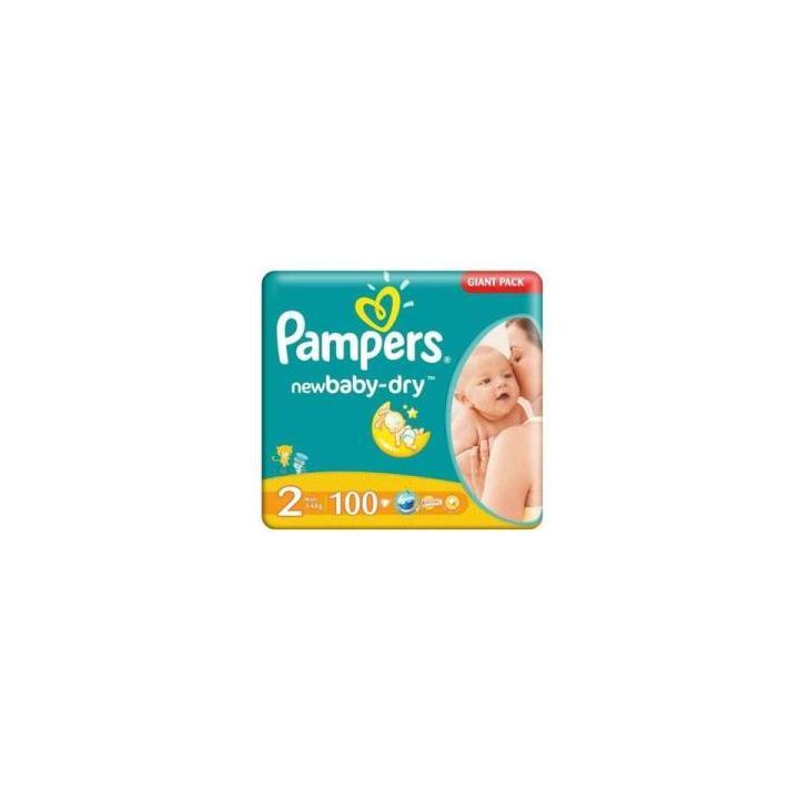 Scutece copii Pampers 2 (100 buc.)