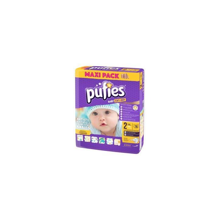 Scutece copii Pufies 2 (76 buc.)