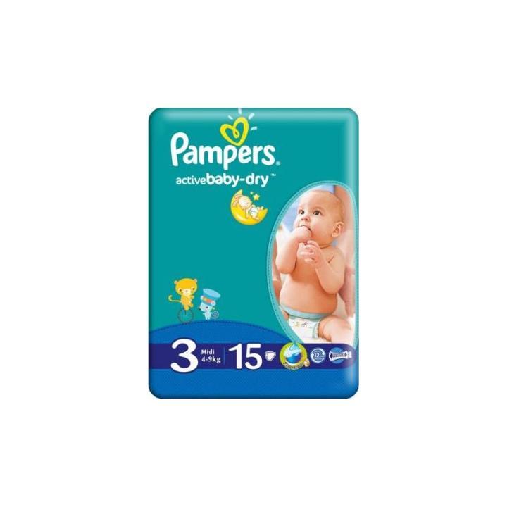 Scutece copii Pampers mini 3 (15 buc.)