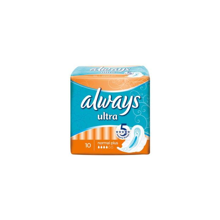 Tampoane intime Always ultra normal plus (10 buc)