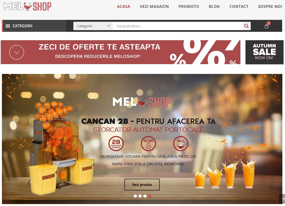 Vindem online storcator multifunctional fructe la pret redus