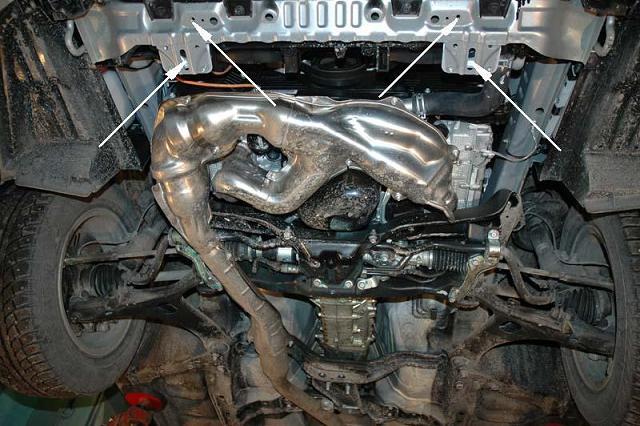 Scuturi metalice Subaru
