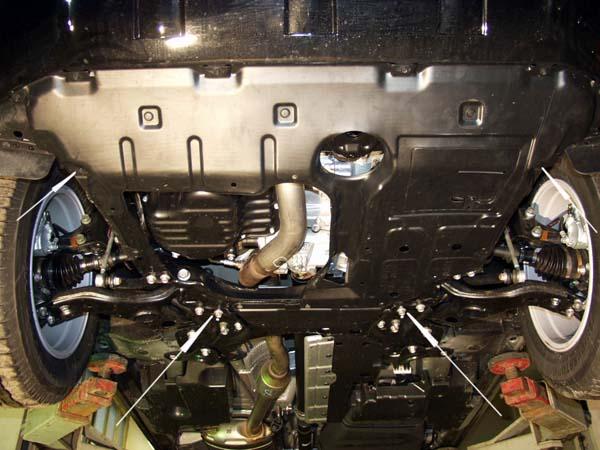 Scuturi metalice Toyota