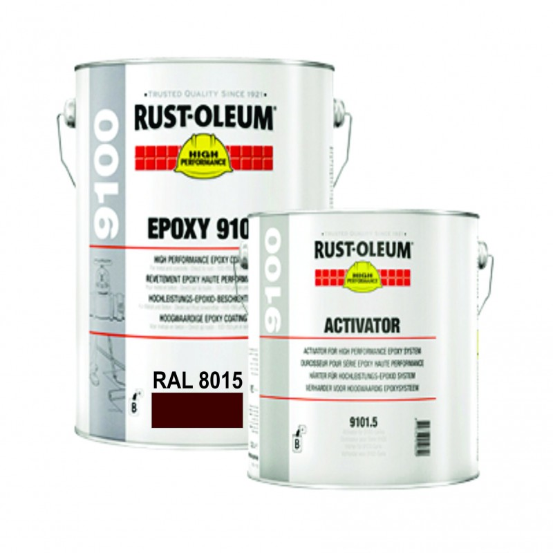 Vopsea Epoxidica pentru Beton 9100 Maro RAL 8015