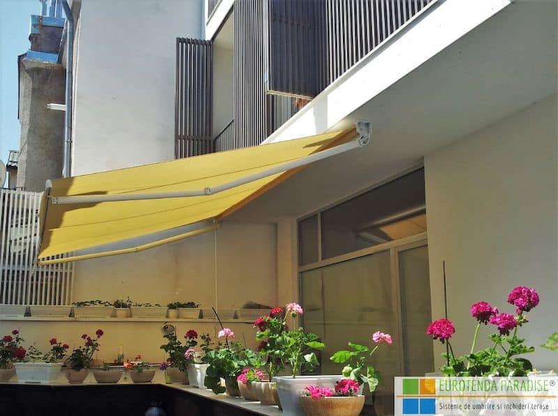 Marchiză retractabilă terasă