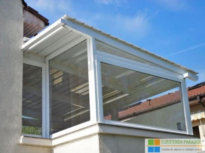 Prelată terasă transparentă