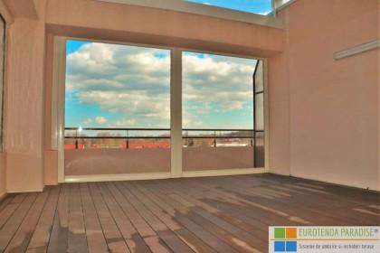 Folie terasă transparentă