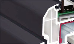 Profile tamplarie PVC colorate prin vopsire