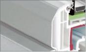 Profile tamplarie PVC colorate cu capac aluminiu