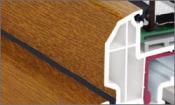 Profile tamplarie PVC colorate cu folii decorative