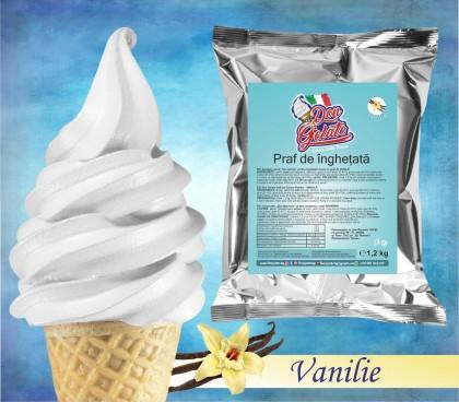 Praf de înghețată Vanilie * (1200g / 3 L Apă ) * Mix de înghețată