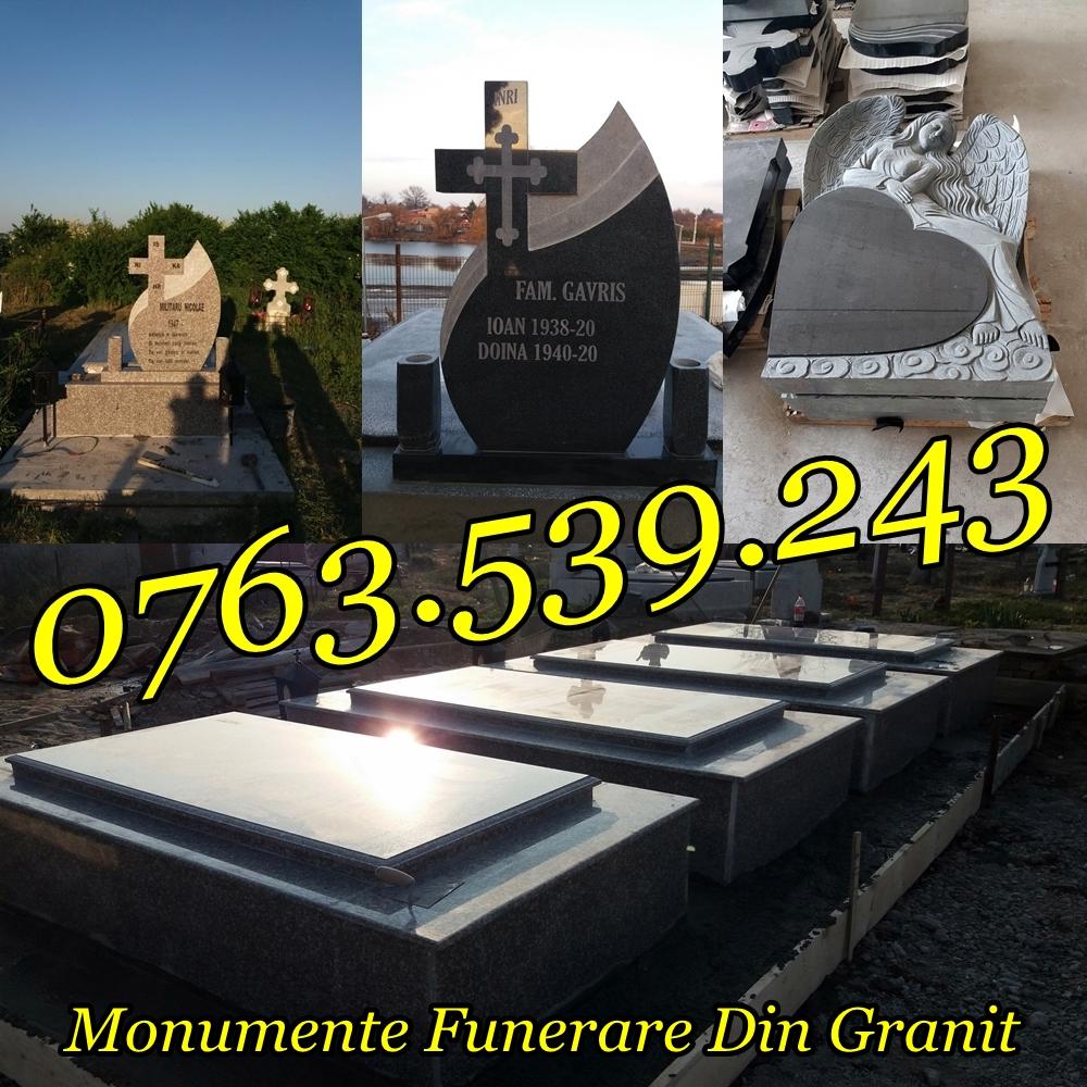 Amenajari Morminte Lucrari Funerare Cavouri Granit Marmura Ieftin