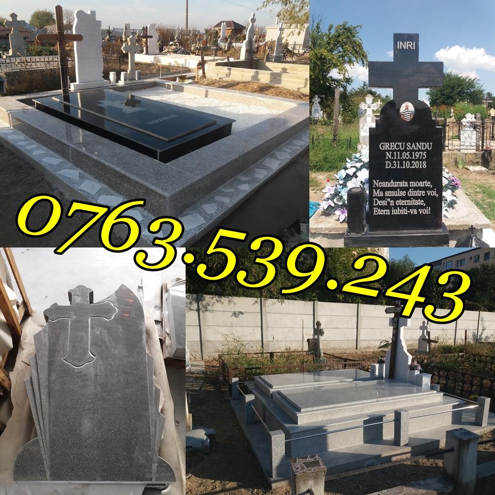 Cavouri Cruci Monumente Funerare Placari Granit Ieftine