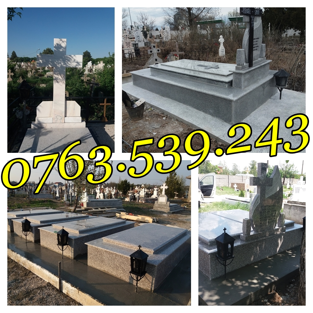 Lucrari Morminte Cavouri Borduri Cimitir Marmura Granit Ieftine