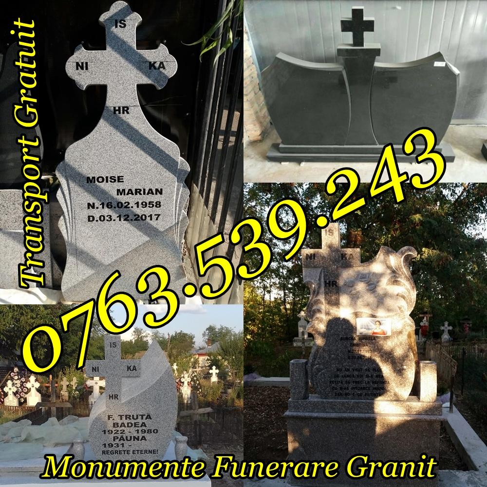 Executam Cruci De Granit Pietre Funerare Marmura Granit