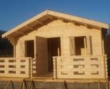 Case din lemn, cabane