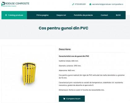 Vezi catalogul nostru cu cosuri de gunoi din PVC