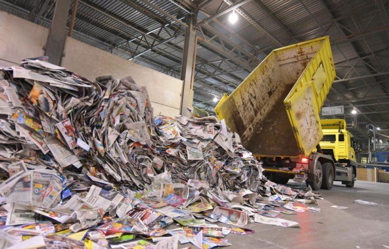 Colectare si reciclare hartie carton