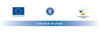 Publicare comunicate de presa implementare proiecte