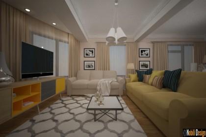 Afla cum poti amenaja livingul unui apartament
