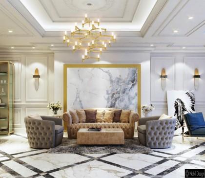 10 interioare frumoase într-un stil luxos