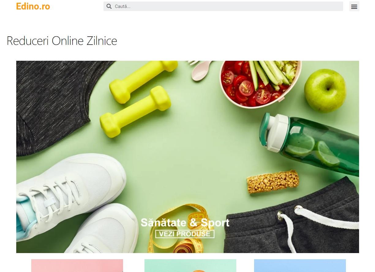 Edino inseamna reduceri online zilnice la unelte