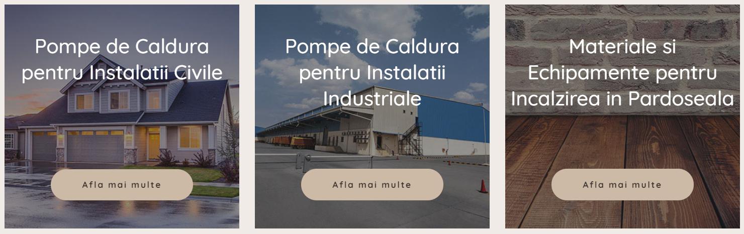 Pompe de caldura  industriale