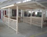Garaje si portcar de lemn