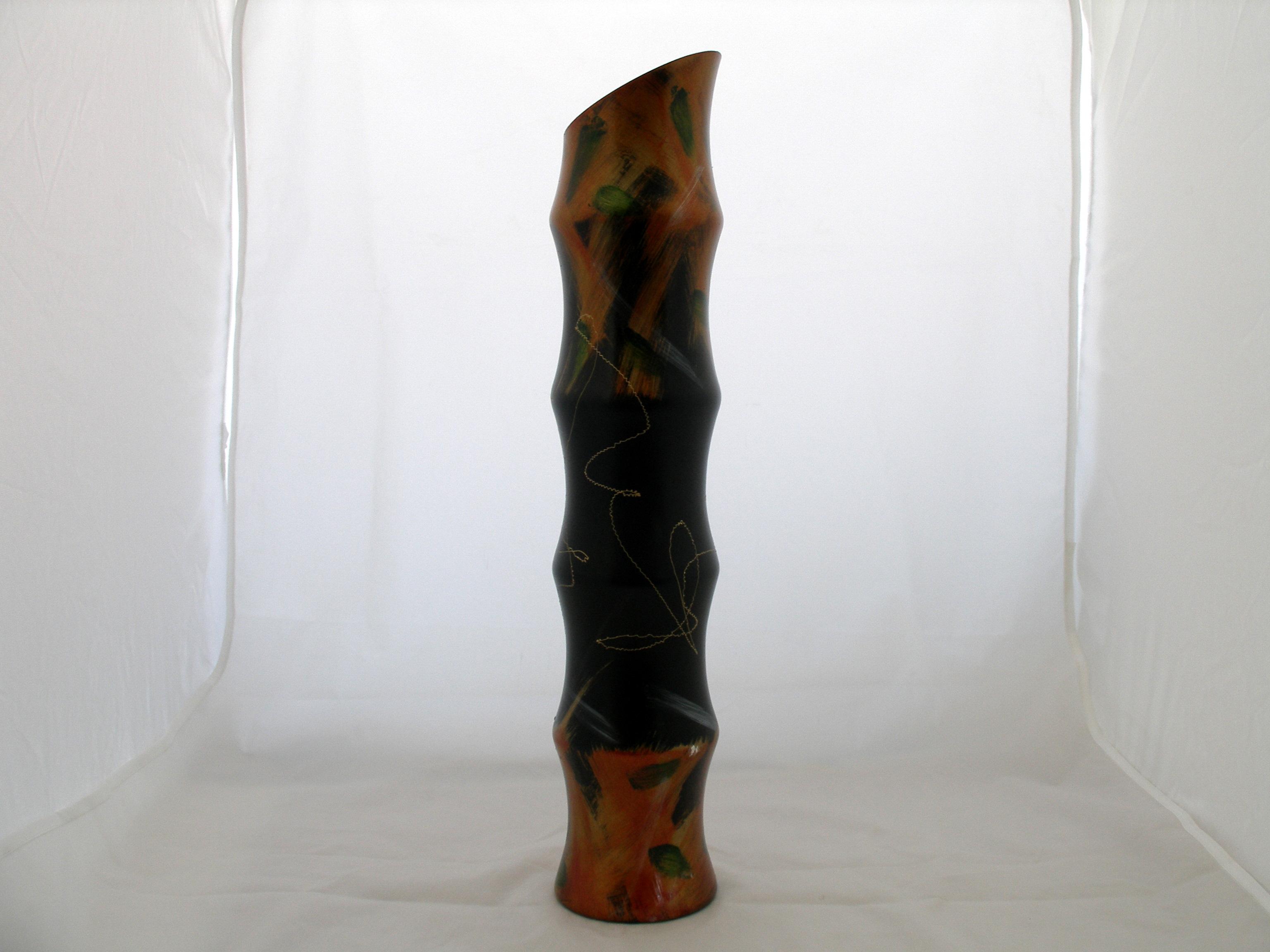 Vaza bamboo personalizata