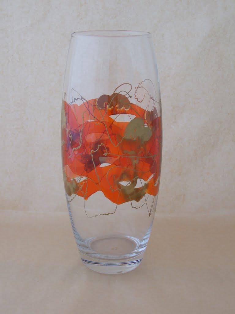 Vaza patrat mic personalizata