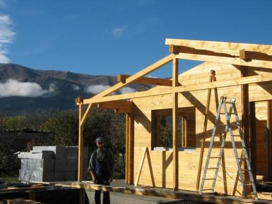 Casa lemn Mario