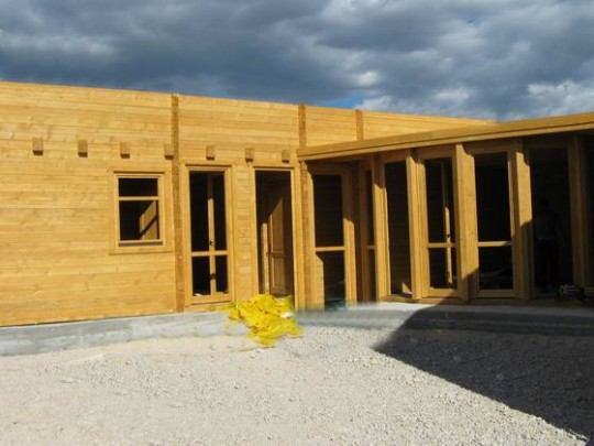 Casa lemn Pezzopane