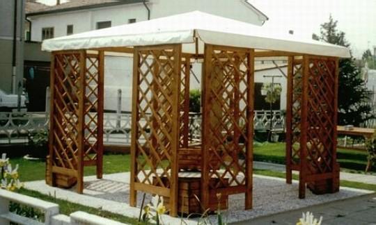 Mobilier lemn de gradina