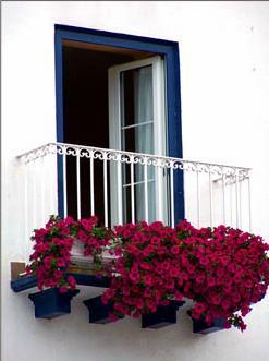 Ferestre balcon lemn stratificat